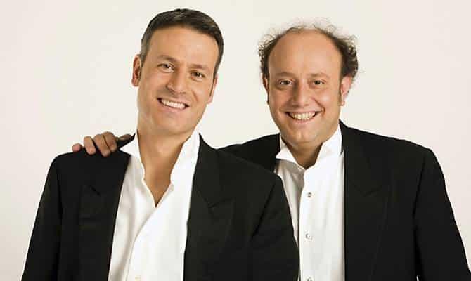 i comici Ale e Franz