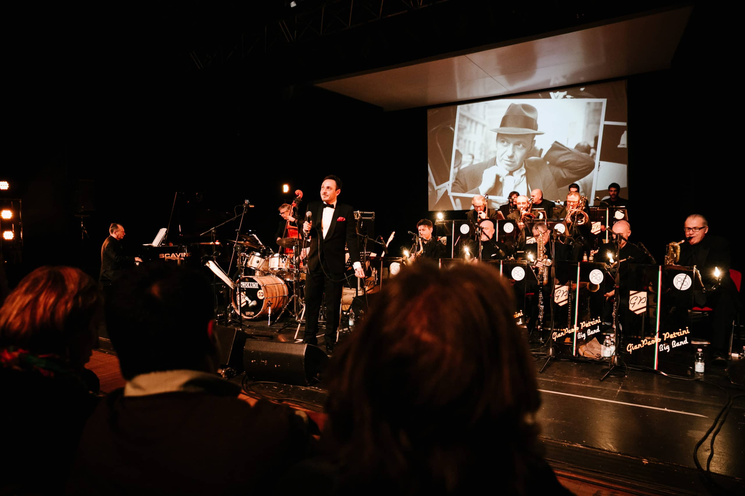Matteo Brancaleoni con la Gianpaolo Petrini Big Band al Moncalieri Jazz Festival