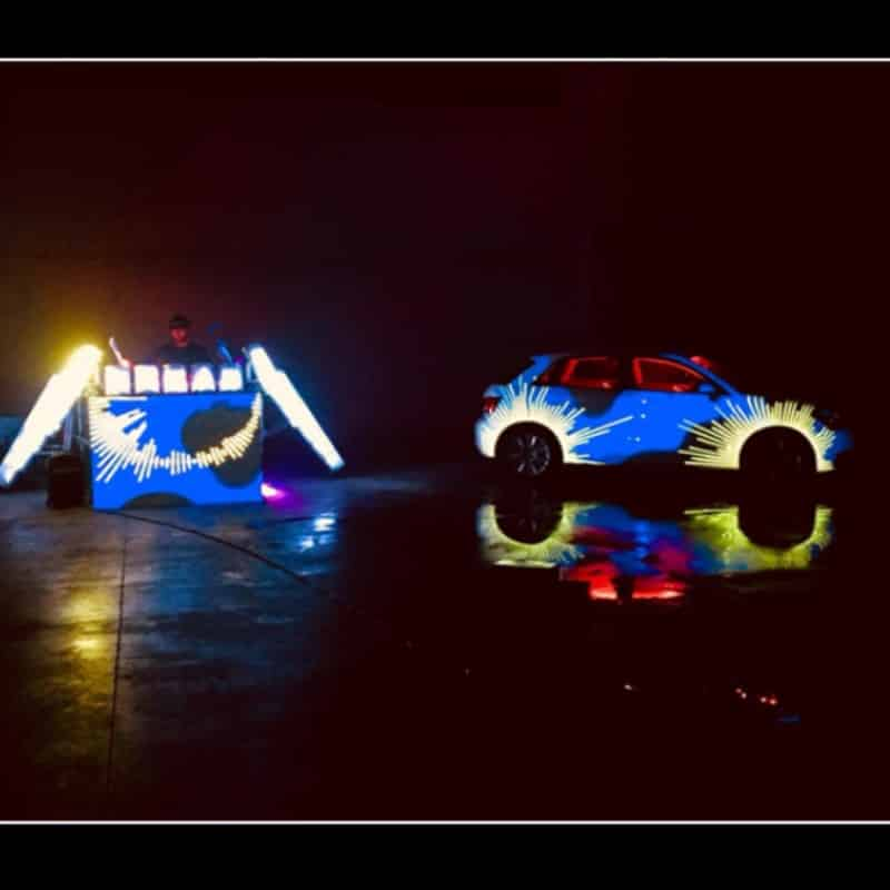 music lights & video mapping